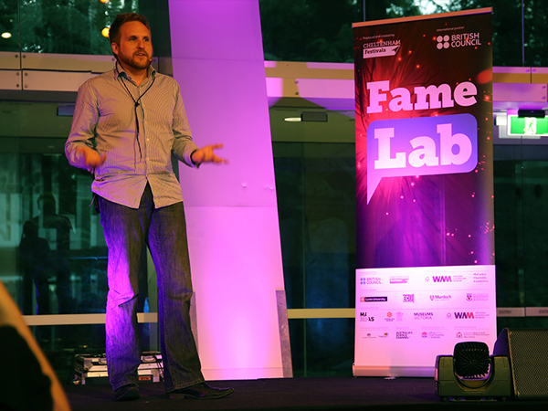 Single Particle Imaging, a doily and the FameLab Australia semi-finals!