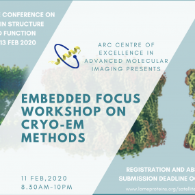 Workshop on Cryo-EM Methods as part of the Lorne Conference