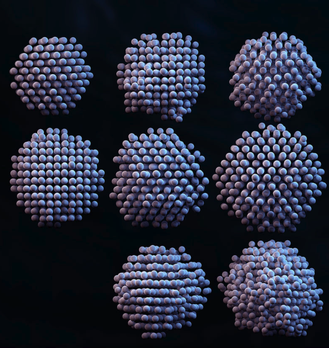3D RECONSTRUCTIONS OF INDIVIDUAL NANOPARTICLES