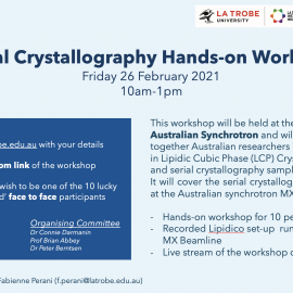 SERIAL CRYSTALLOGRAPHY HANDS-ON WORKSHOP