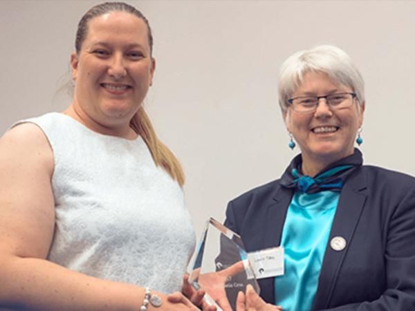 Imaging CoE AI Associate Professor Stephanie Gras has been honoured with a Georgina Sweet Award for Women in Quantitative Biomedical Science.